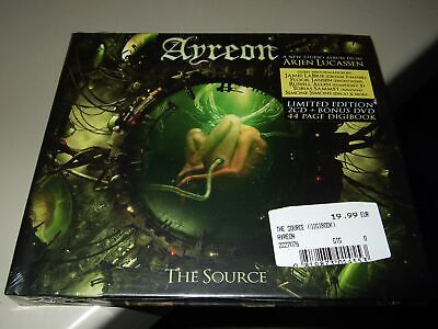 Ayreon : The Source Limited Edition 2Cd+Dvd Set 2017 Mtr Eu