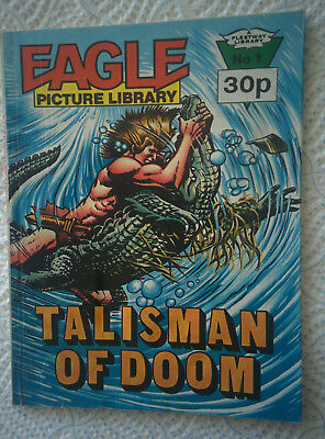 """Eagle Picture Library #1 """"TALISMAN OF DOOM"""" dated 1985"""