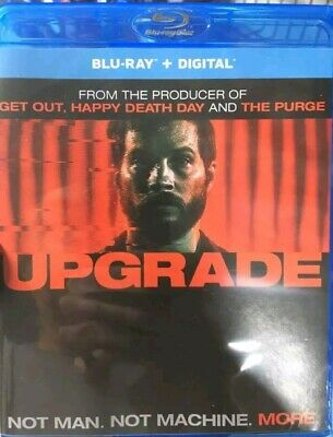 UPGRADE Blu-Ray ONLY, sent in a slim DVD case, first class shipping, 2018