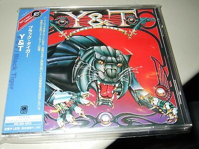 Y&t : Black Tiger Japan Cd 2002 A&m Uicy 3737