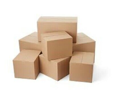 50 Different Size Mixed Shipping Packing Mailing Moving Boxes Corrugated Carton
