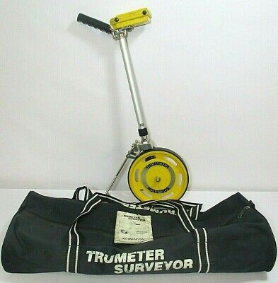 Trumeter Surveyors Wheel Distance Measurer, GC & Good Working Order