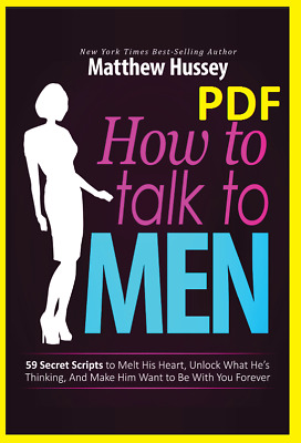 How to Talk to Men By Matthew Hussey-Fast Delivery [PDF] EB00K