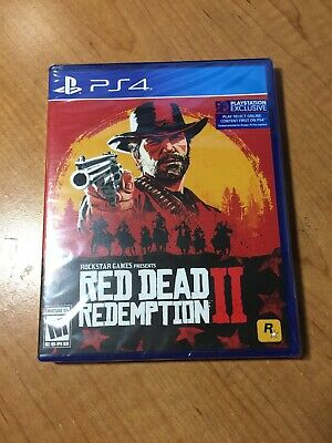Red Dead Redemption 2 - Standard Edition (Microsoft Xbox One, 2018) Brand New