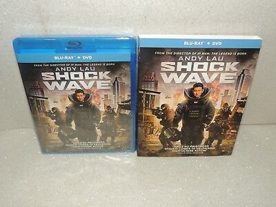 Shock Wave (Blu-ray + DVD Disc, 2018 W/Slipcover)***FREE SHIPPING**** BRAND NEW