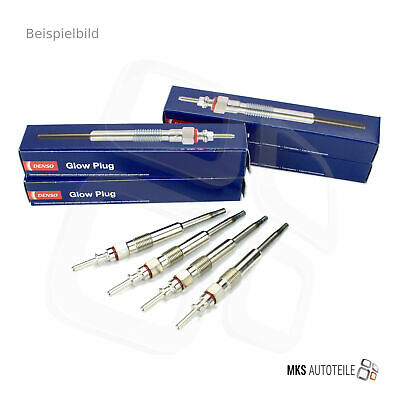 4 x DENSO GLÜHKERZE GLÜHSTIFT SET CHRYSLER DODGE JEEP 3906650
