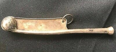 Vintage Sterling Silver Boatswain's Bosun's Whistle navy 925 WW I and II