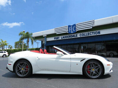 """2017 Ferrari California T Convertible with Handling Speciale Package 2017 FERRARI CALIFORNIA """"WHITE/RED"""" LOW MILES PERFECT INSIDE AND OUT"""