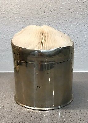Vintage silver-plated jar or canister - Rare And Unique