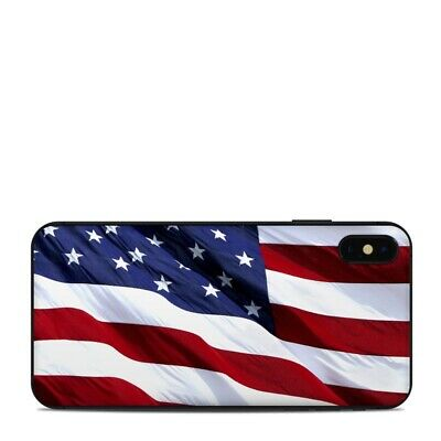 iPhone XS Max Skin - Patriotic by Flags - Sticker Decal
