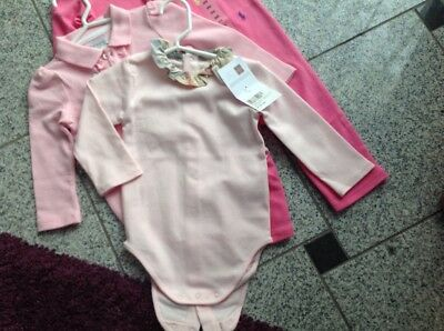 burberry prinzessin body rosa orginal neu ovp12 monate