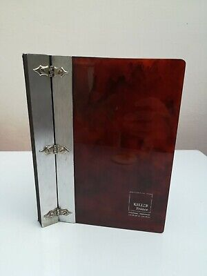 Beautiful Art Deco Cherry Bakelite Keller France Folder Tested Simichrome Rare