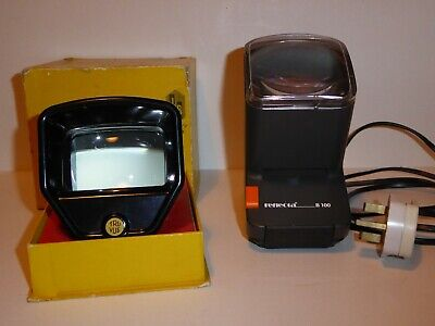 Job Lot of Assorted Vintage SLIDE VIEWERS TRUVUE and REFLECTA B100 MAINS VIEWER