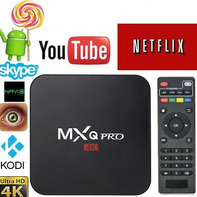 Android Smart TV Box MXQ PRO 4K S905X Quad Core Caja Multimedia WiFi 4k Netflix