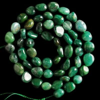 V3991-t South African Jade Loose Beads 15""