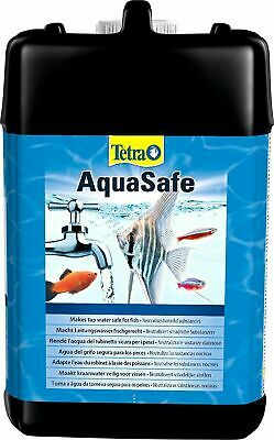 Tetra Aquasafe 5000ml 5ltr Aquarium Fish Tank Tap Safe Dechlorinator 5L Prime