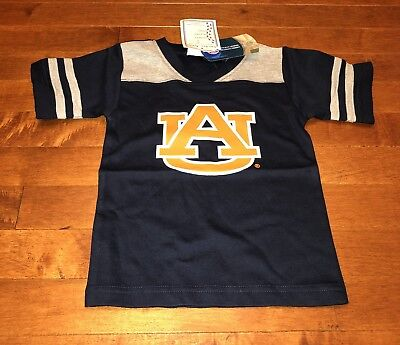 NCAA Licensed Auburn University Tigers Youth Toddler Boy Navy Shirt Top New 3T