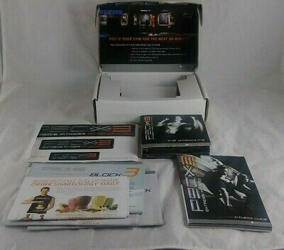 P90X3 DVD Set Mint Condition + Fitness Guide