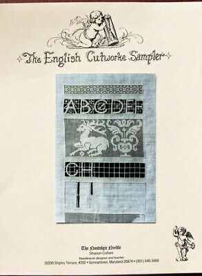 The Nostalgic Needle The English Cutworke Sampler Counted Thread Chart/Pattern