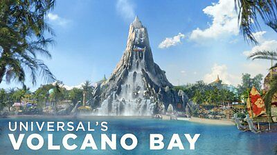 2 UNIVERSAL 3-PARK 2-DAY PARK TO PARK  $209 each ( Must Read Full Ad.) Volcano