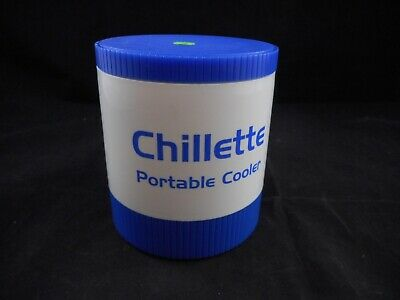 CHILLETTE Plastic 12 Tube Cooler w/ Secure Lid 6 Hour Hold Time at -15°C 1156T29