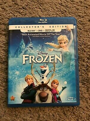 Frozen Collectors Edition Bluray DVD