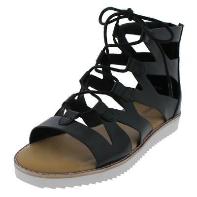 10ccf8c16b4 Dolce Vita Juno Leather Lace Up Gladiator Sandals Women s 9 Guc.  21.23 Buy  It Now 5d 9h. See Details. Madden Girl by Steve Madden Womens Maxii  Gladiator ...