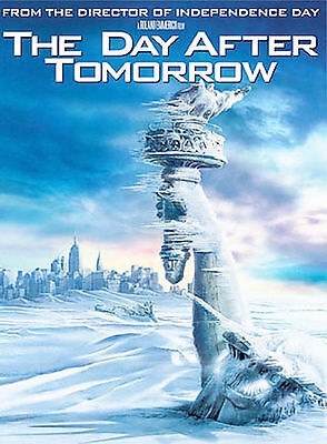 The Day After Tomorrow (DVD, 2004, Collectible Lenticular Packaging)