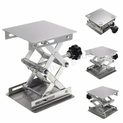 4''x4'' Stainless Steel Lab Stand Table Scissor Lift Laboratory Lifting  UK