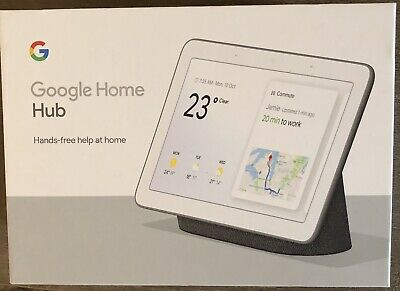 Brand new Google home hub, Charcoal