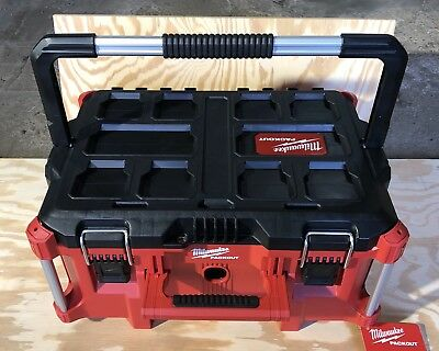 """Milwaukee Large PACKOUT 22"""" Toolbox 48-22-8025 -Out Of Box-no Inside Tray"""