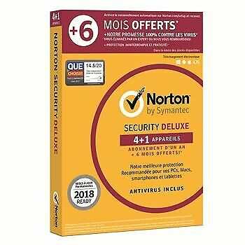 NORTON BY SYMANTEC - Norton Security Deluxe NEUF