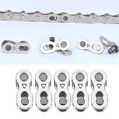 10Pcs Portable Quick Clip Bicycle Chain Master Link Joint Connector 6/8/10 Speed