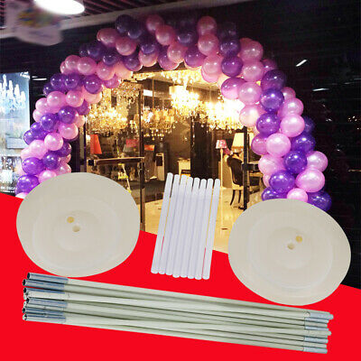 Large Balloon Arch Column Stand Frame Kit for Birthday Wedding Party 4 x Base