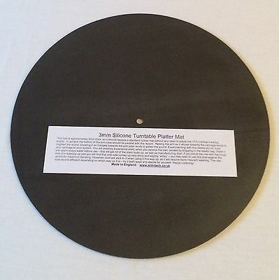 Srm Tech Extra Thick Silicone Turntable Platter Mat - Offer !!
