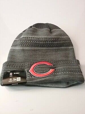 CHICAGO BEARS NFL Authentic New Era 2018 On Field Sport Knit Hat New ... e80cbff7a
