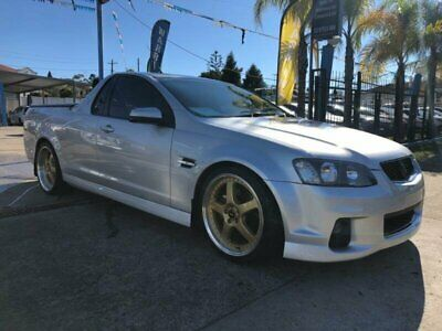 2012 Holden Ute VE II SS Silver Manual M Utility