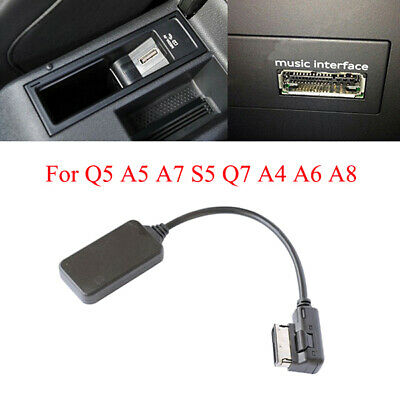BLUETOOTH MUSIC INTERFACE AUX ADAPTER IN CABLE For AUDI Q5