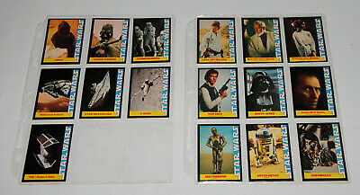 c970c31321f Star Wars Wonder Bread 1977 Trading Cards Complete Set Of 16 In Sleeves 2