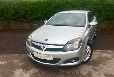 VAUXHALL ASTRA CONVERTIBLE 1.6 Twin Top Sport . FSH.SILVER 2007