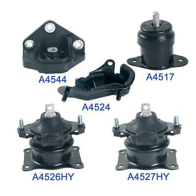 For Acura TL 3.2L 04-06 AT Set 2PCS Trans Motor Mount 65002 65025 M1069