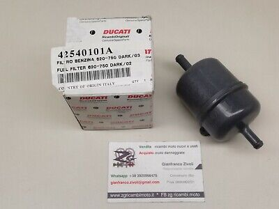 New Genuine OEM Originale Ducati Filtro Benzina Carburante Fuel Filter