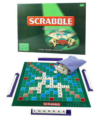 Original Scrabble Board Game Family Kids Educational Toys Crossword Puzzle Game