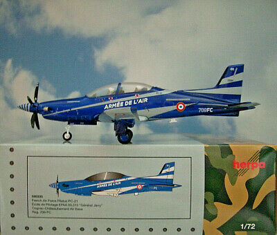 Herpa Wings 1:72  Pilatus PC-21  French Air Force 709-FC  580335