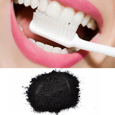 Extra Strong Teeth Tooth Whitening Powder Bleaching Dental White Charcoal New