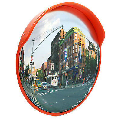 Security Mirror convex Traffic Road Safety Driveway Wide Angle View outdoor 45cm