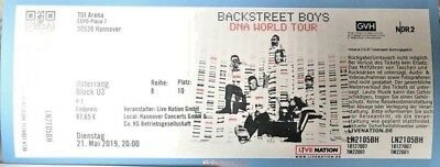 Backstreet Boys Konzert Tickets!!!