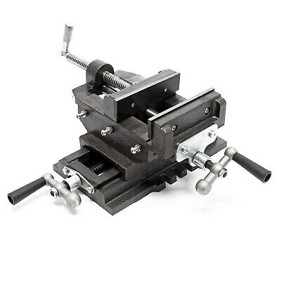 Cross Slide Drill Press Vise X-Y Clamping bench Milling Machine 200mm