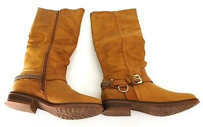 0fc93801074f Xoxo Women s Mauricia Tall Riding Boots Size 10 Tan