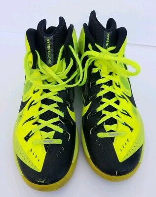 0964eddec4a8 Mens Nike Hyperdunk 2014 Basketball Shoes Sneakers Yellow  Black Size 11.5